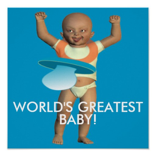 Worlds Greatest Baby Poster
