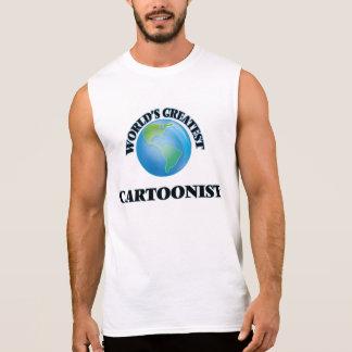World's Greatest Cartoonist Sleeveless T-shirt