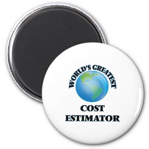World's Greatest Cost Estimator Refrigerator Magnets