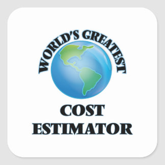 World's Greatest Cost Estimator Stickers