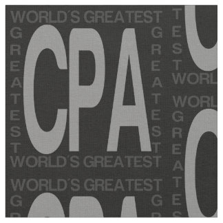 Worlds Greatest CPA Fabric