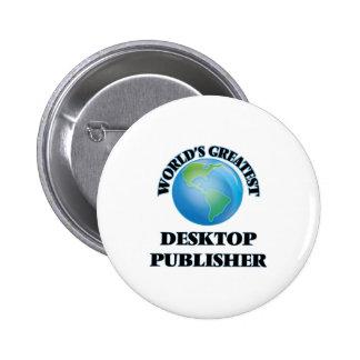 World's Greatest Desktop Publisher Buttons