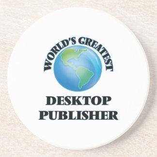World's Greatest Desktop Publisher Coaster