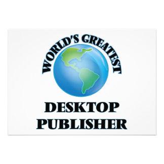 World's Greatest Desktop Publisher Cards