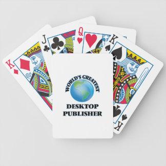 World's Greatest Desktop Publisher Poker Deck