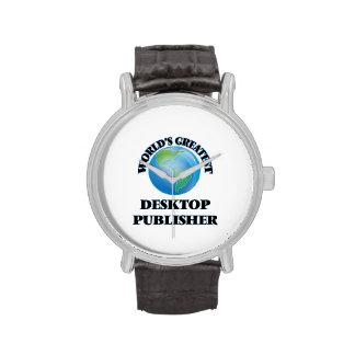 World's Greatest Desktop Publisher Watches