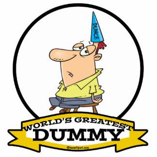 WORLDS GREATEST DUMMY MEN CARTOON ACRYLIC CUT OUTS