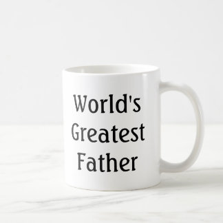 World's Greatest Father (In Law) Basic White Mug