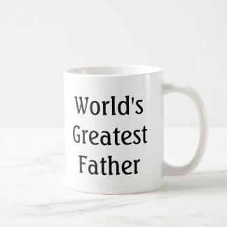 World's Greatest Father (In Law) Coffee Mug