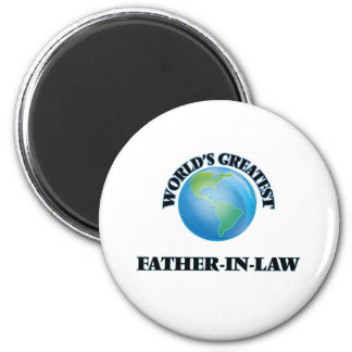 World's Greatest Father-in-Law Refrigerator Magnets