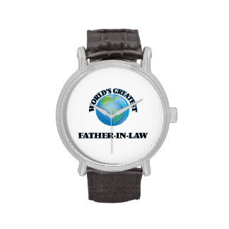 World's Greatest Father-in-Law Wristwatches