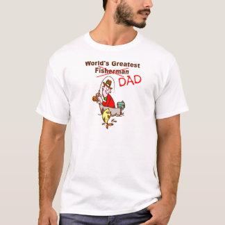 World's Greatest Fisherman Dad T-Shirt