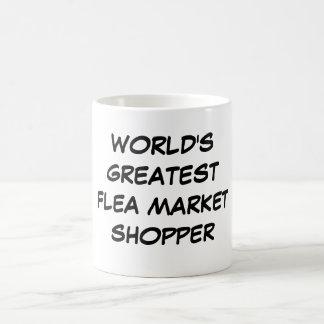 """World's Greatest Flea Market Shopper"" Mug"