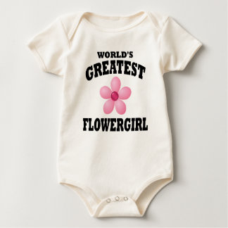 World's Greatest Flowergirl Baby Bodysuit