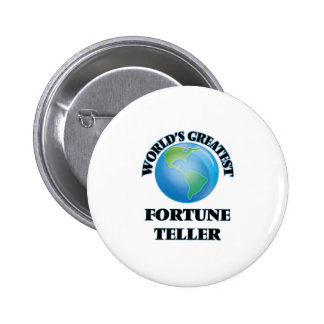 World's Greatest Fortune Teller Pinback Buttons