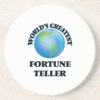 World's Greatest Fortune Teller Drink Coaster