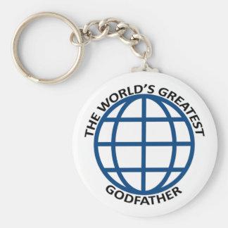 World's Greatest Godfather Key Ring