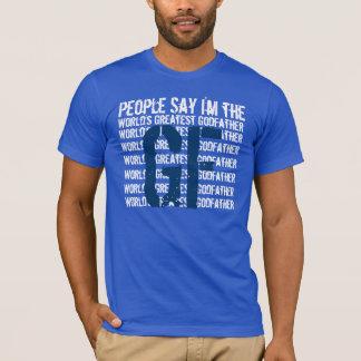 World's Greatest Godfather Ver3 T-Shirt