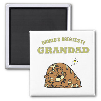 World's Greatest Grandad! Magnet