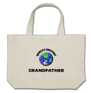 World's Greatest Grandfather Bags