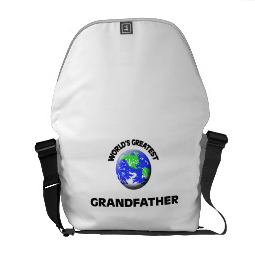 World's Greatest Grandfather Messenger Bags