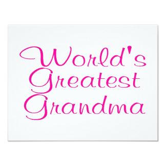 Worlds Greatest Grandma Announcement