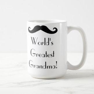 World's Greatest Grandma! Basic White Mug