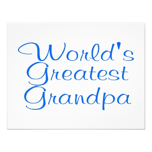 Worlds Greatest Grandpa Announcements