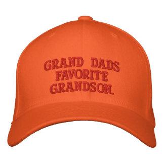 Worlds Greatest Grandson Embroidered Hat