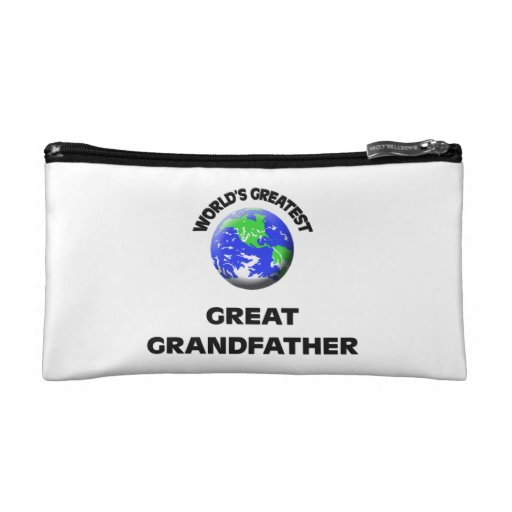 World's Greatest Great Grandfather Cosmetic Bags