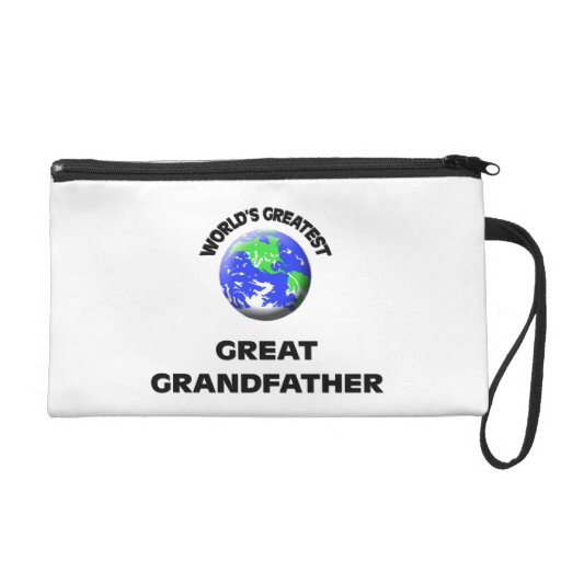 World's Greatest Great Grandfather Wristlet Purse