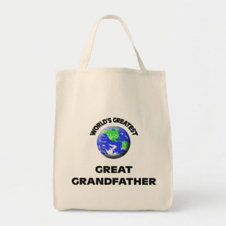 World's Greatest Great Grandfather Bag