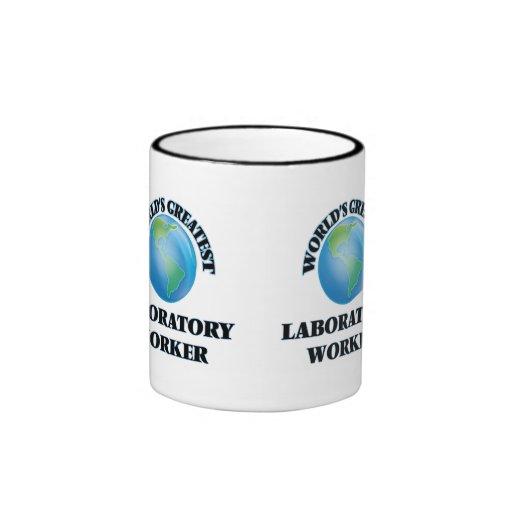 World's Greatest Laboratory Worker Coffee Mugs