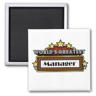 World's Greatest Manager Magnet