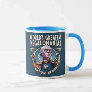 World's Greatest Megalomaniac Mug