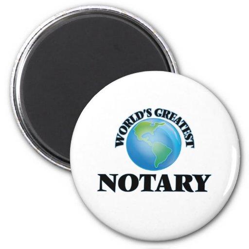 World's Greatest Notary Fridge Magnet