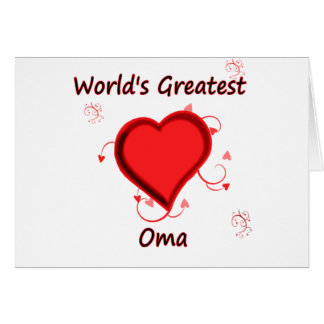 World's Greatest oma Card