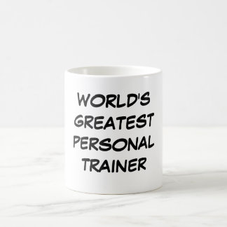 """World's Greatest  Personal Trainer"" Mug"