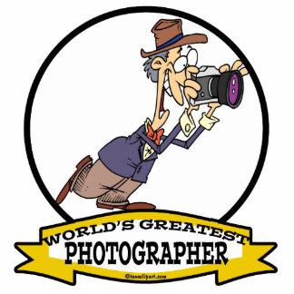 WORLDS GREATEST PHOTOGRAPHER V MEN CARTOON PHOTO SCULPTURES