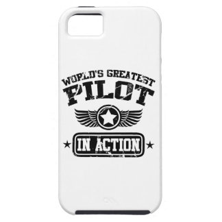 World's Greatest Pilot In Action Tough iPhone 5 Case