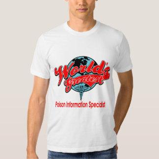 World's Greatest Poison Information Specialist Shirts