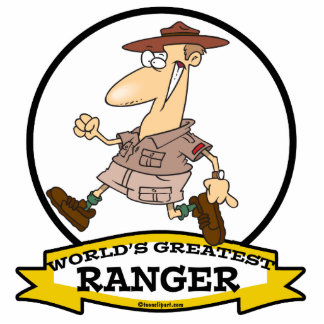 WORLDS GREATEST RANGER II MEN CARTOON ACRYLIC CUT OUTS