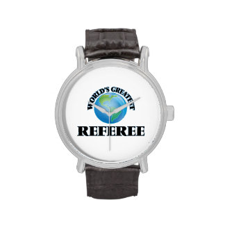 World's Greatest Referee Wristwatches