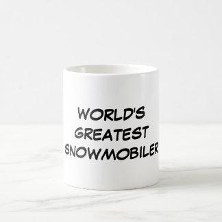 """World's Greatest Snowmobiler"" Mug"