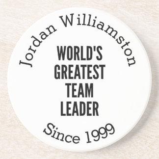 Worlds Greatest Team Leader Coaster