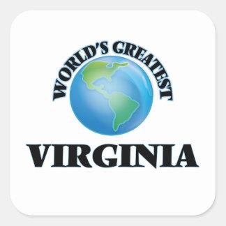 World's Greatest Virginia Stickers