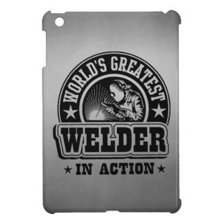 World's Greatest Welder In Action iPad Mini Cases