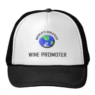 World's Greatest Wine Promoter Hats