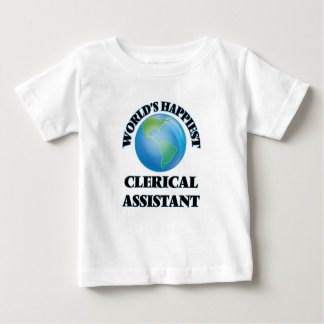 World's Happiest Clerical Assistant T Shirt
