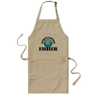 World's Happiest Fisher Long Apron